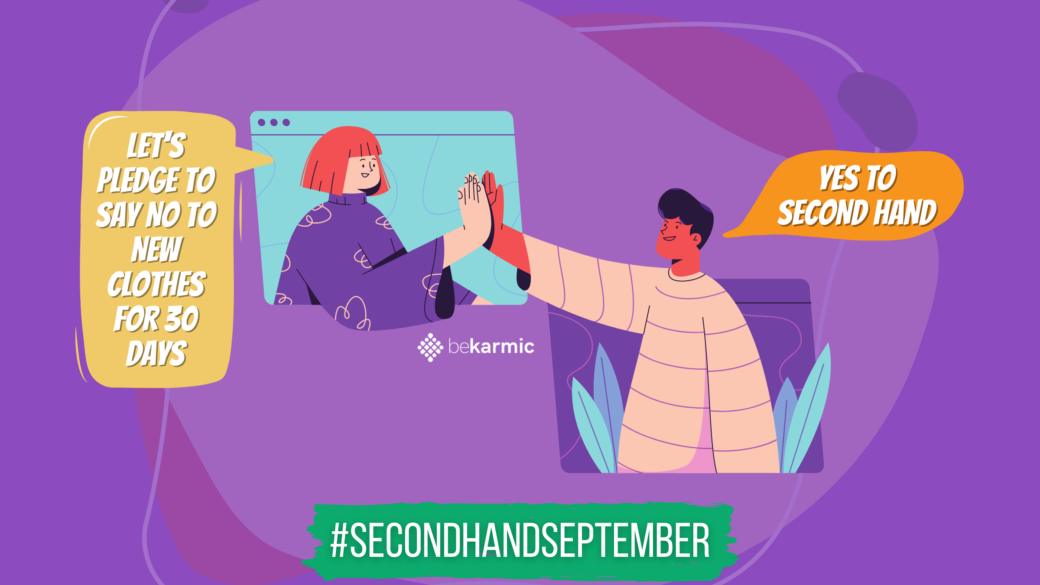 Second Hand September — Pledge to NO New Clothes