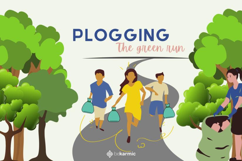 Plogging: Picking Trash while jogging