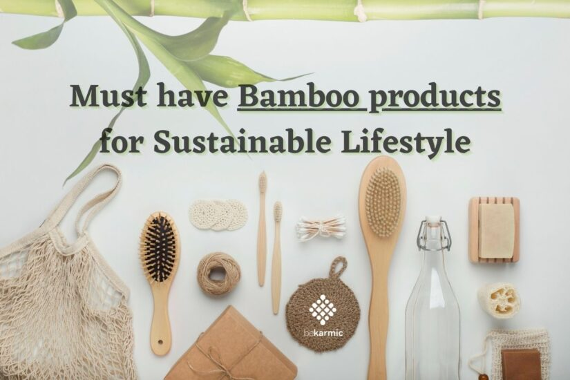 30 Must-Have Bamboo Products for sustainable Lifestyle